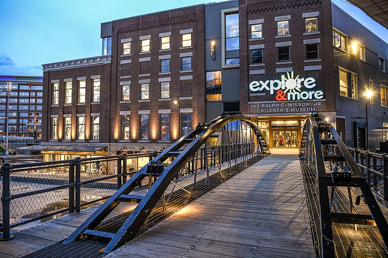 explore and more children's museum at canalside
